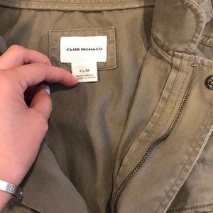 Club Monaco Jackets & Coats - Club Monaco Sleeveless Utility Vest